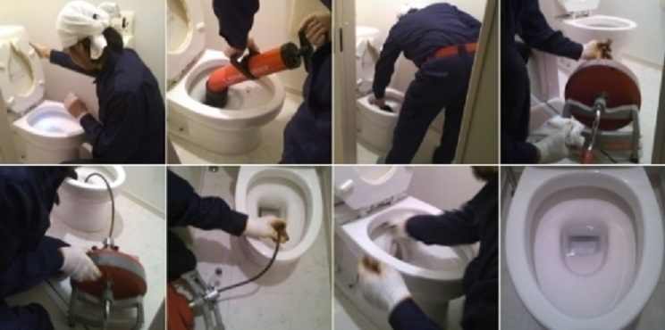 トイレ の 詰まり を 直し て くれる 業者
